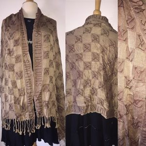 Accessories - LV Scarf Wrap 26 X 65